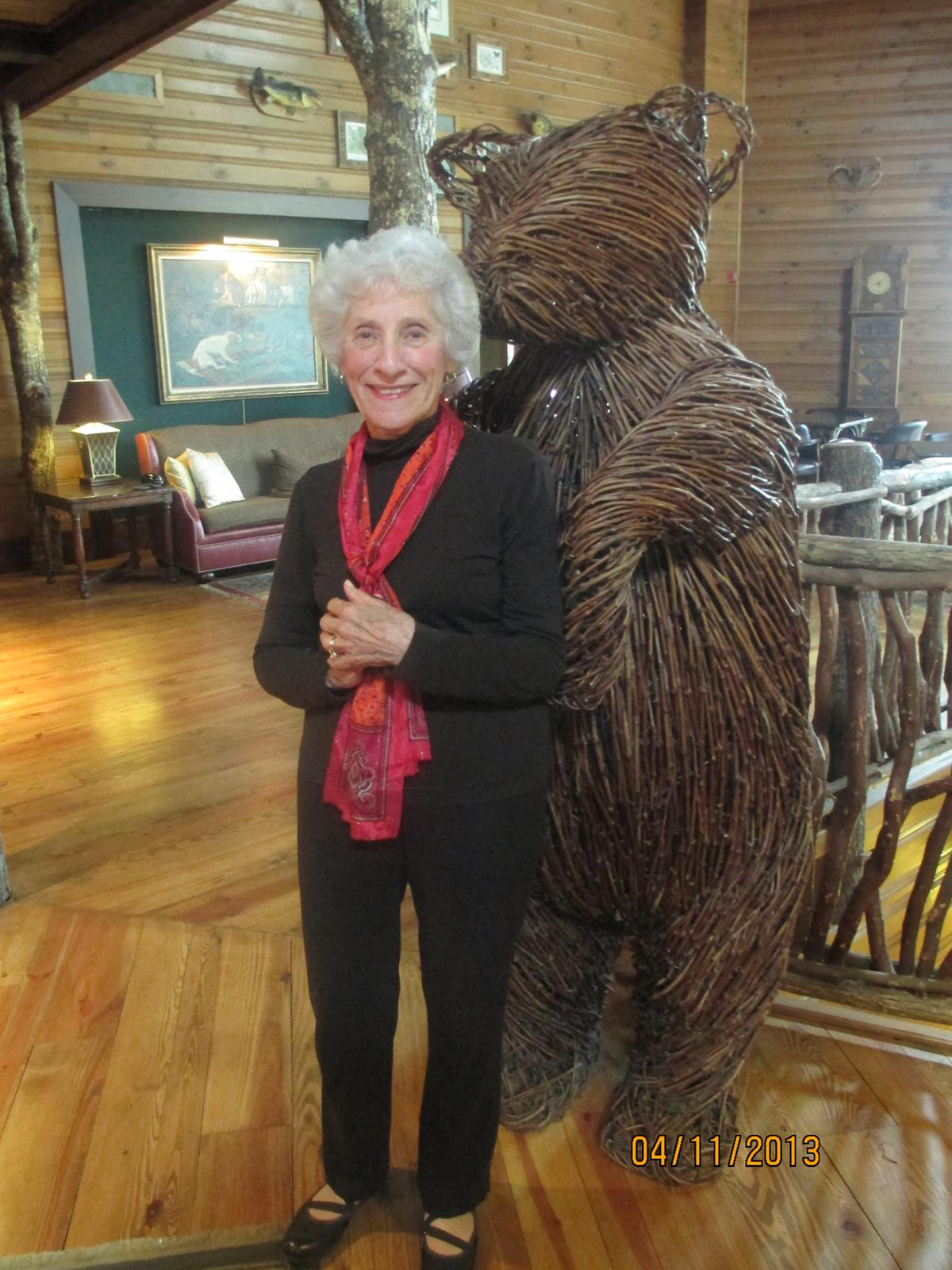 Klare Campbell and the Lobby Bear